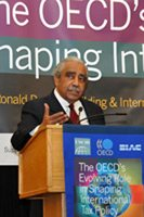 Rep. Charles Rangel (D. – N.Y.) addressed the conference.