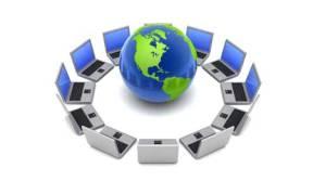 laptops globe