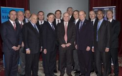 Top members of BASCAP (Business Action to Stop Counterfeiting and Piracy) met today in New York.