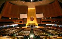 The UN General Assembly opens on September 14.