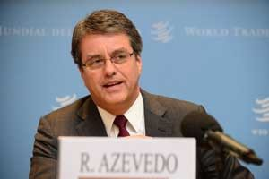 "WTO Director General Roberto Azevêdo said diplomats tried hard but ""cannot cross the finish line here in Geneva."""