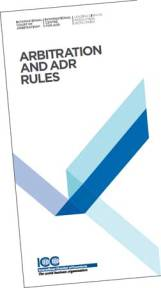 Arbitration and ADR Rules