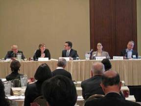 A panel discussion of third-party funding at the ICC San Francisco conference.