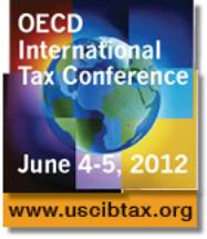 OECD International Tax Conference, June 4-5, 2012