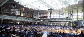 Climate negotiators met at the World Conference Center in Bonn, Germany.