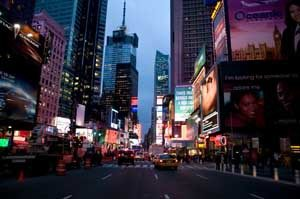 ICC's Marketing and Advertising Commission met near an epicenter of advertising, New York's Times Square.