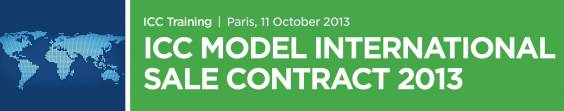 ICC Model International Sale Contract 2013 Banner