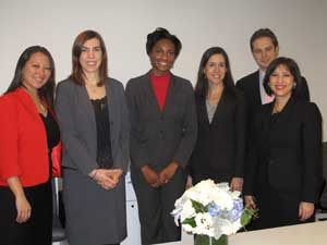 SICANA team members in New York (L-R): Sherlin Tung, Suzanne Ulicny, Rachel Clarke, Rocio Digon, Steven Holder, Josefa Sicard-Mirabal.