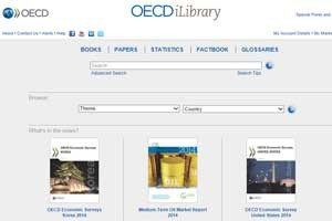 The OECD's iLibrary is an essential data tool for journalists looking for cross-border statistics on the economy, education, energy and a range of other topics.