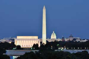 washington-Lincoln-Memorials