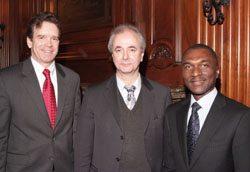 L-R: Peter Robinson (USCIB), Michael Klein (World Bank), Alex Cummings (Coca-Cola).