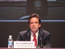USCIB President Peter Robinson
